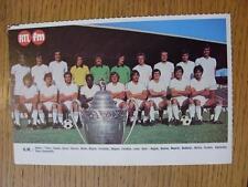"1976/1977 Football Magazine (France) Colour Team Group [8""x 5""] Cut Outs: Marsei"