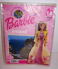 Discover the World with BARBIE IRELAND OUTFIT Costume DRESS & BOOK NEW!!