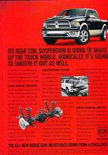 2009 Dodge Ram Crew 1500 Truck - Classic Vintage Advertisement Ad A94-B