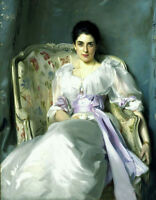 Oil painting John Singer Sargent - Lady Agnew of Lochnaw hand painted in oil art