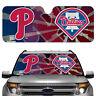 Auto Sun Shade - MLB Philadelphia Phillies for Front Window