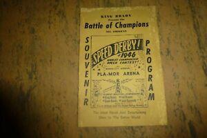 King Brady presents 1946 Speed Derby Battle of Champions Kansas City walkathon