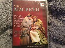 VERDI - MACBETH - DOMINGO,PLACIDO/SEMENCHUK,EKATERINA/DVD New & Sealed