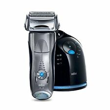 Braun Series 7 790cc Cordless Electric Foil Shaver for Men with Clean and Charge
