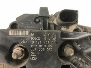 FIAT Ducato 244L 2,3 JTD original Lichtmaschine Generator 504009977