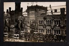 Bury - New Drill Hall, Opened by Duke of Connaught 1907 - real photographic p/c
