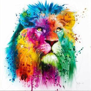 AFRICA POP BY PATRICE MURCIANO 02 (LION) KEYRINGS-MUGS-ART PRINT