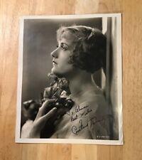 CONSTANCE TALMADGE Autograph 8 x 10 Photo JSA Certified Signature Film Actress