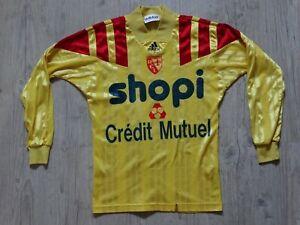 RCL LENS vintage maillot foot  jersey shirt maglia domicile 1992 1993 DXS shopi