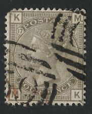 GB utilisés en Haïti Z12 4d brun-gris plaque 17, MK, Annulé C59 de Jacmel