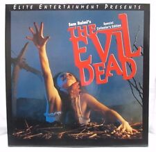 THE EVIL DEAD Special Collector's Edition-  Vintage LASER DISC