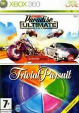 360 Xbox Burnout Paradise Ultimate box + trivial como nuevo