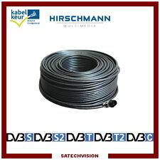 Câble Coaxial Hirschmann KOKA 799 B, 20 m avec 1 Connecteur F à Compression
