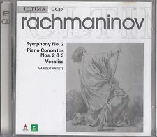 Rachmaninov: Symphony No.2/Piano Concertos Nos 2 & 3/Vocalise 2-CD Lazarev/Inbal