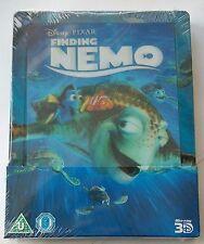 Finding Nemo / Findet Nemo | Lenticular 2D + 3D Blu-Ray Steelbook NEU NEW