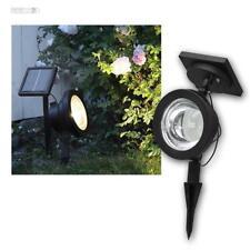 Power LED Gartenstrahler Solar Strahler variabel 30lm, Solar-Leuchte Spot Fluter