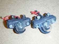Ford Cortina Mk3/Taunus Tc1 Saloon number plate lamps x2,new,g/Ford (D35)