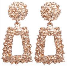 Boho Women Simple Geometric Circle Ear Stud Drop Dangle Earrings Fashion Designs