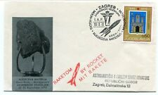 1970 Mjeseceva Materija Moon Rocks Mondgestein Zagrebacki Velesajam Raketom
