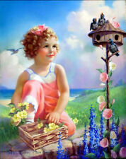 Chart Needlework Embroidery DIY Counted Cross Stitch Pattern PDF Spring Song