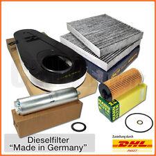 BMW 5er F10 F11 520d 184PS 525d 211PS & 218PS Inspektionspaket Filtersatz 4-tlg.