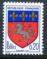 STAMP / TIMBRE FRANCE NEUF LUXE ** N° 1510 ** ARMOIRIE DE VILLE SAINT LO