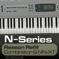 KORG N364 REASON REFILL 77 COMBINATOR & NNXT PATCHES 1119 SAMPLES 24BIT MAC PC