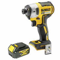 Dewalt DCF887N 18V XR Brushless Impact Driver 3 Speed + 1 x 4.0Ah Battery DCB182