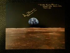 """New Listing Alan Bean Apollo 12 Astronaut, signed photo in person """"Moonwalker"""""""