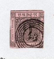 Baden - Sc# 4 Used (tiny edge thiin)   /    Lot 1020417