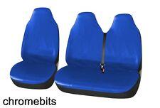 PER RENAULT TRAFIC (01-14) sportive blu resistente SIMILPELLE coprisedili