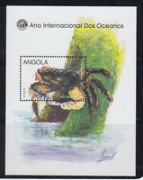 Angola 1998 Crab MS Sc 1031   complete  mint never hinged