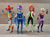 MYSTICONS Action Figures PIPER EM ZARYA Mysticon Ranger ARKAYNA Dragon Mage Lot