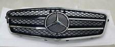 Chrome/Black CL Front Grill Grille Fits Mercedes Benz E Class W212 SPORT