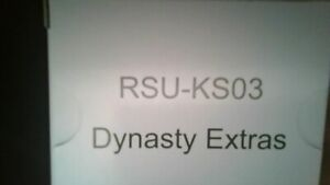 Rising Sun Game Kickstarter Dynasty Extras Invasion Exclusives ONLY RSU-KS03