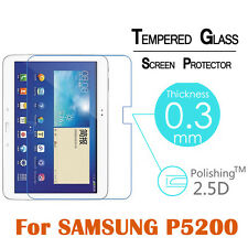 "Tempered Glass Screen Protector For Samsung Galaxy Tab 3 10.1"" P5200 P5210 P5220"
