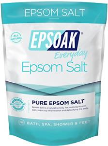 Epsom Salt 2 Lbs. Sulfato De Magnesio Usp