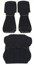 Fiat 500 L Black Seat Covers Set New