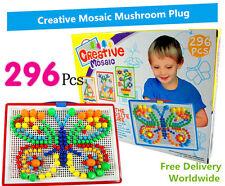 Giocattolo educativo creativo mosaico FUNGO Nail Perline Spina Con Scatola Di Immagazzinaggio