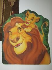 Mouse pad VINTAGE 90's DISNEY LION KING SIMBA MOUSE PAD preowned GOOD CONDITION