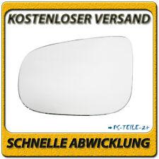 Spiegelglas für VOLVO S60 II S80 II V40 II V60 V70 III 2010-2017 links konvex