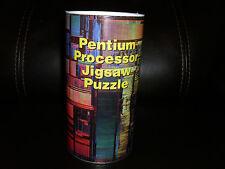 Vintage Intel Pentium Processor Puzzle Pentium I Processor Poster Rare New 1980