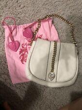 juicy couture handbags leather Cream