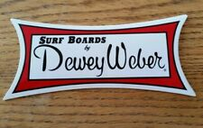 Dewey Weber Surfboard sticker Jumbo surfing decal surf Longboard