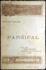 Richard Wagner, Parsifal, Ed. Henri Gautier, 1890