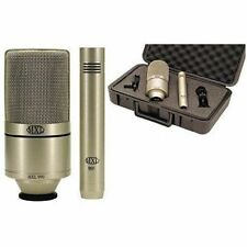 MXL 990/991 Large Diaphragm Microphone & Instrument Microphone Recording Package