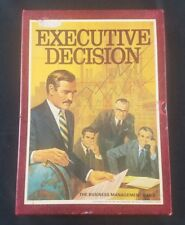Executive Decision - 1971 3M Bookshelf Game - Business Management Game