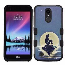 for LG K20 Plus/LG V5 Impact Armor Rugged Hybrid Case Disney The Little mermaid