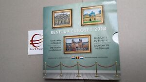 2018 Benelux 24 monete 11,64 euro Belgio Olanda Lussemburgo Belgique Pays bas