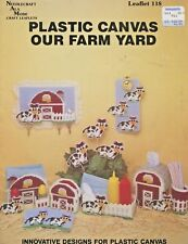 Our Farm Yard Plastic Canvas Pattern Needlecraft Ala Mode Leaflet 118 Cows